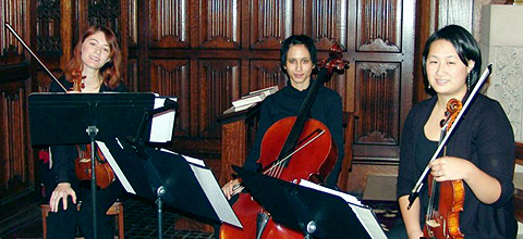 Liz in a string trio